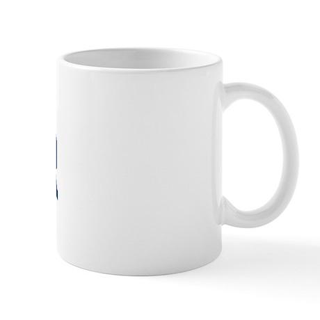 FENDER design (blue) Mug