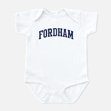 FORDHAM design (blue) Infant Bodysuit