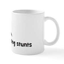 Writing stunts Coffee Mug