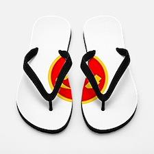 WPK Emblem Flip Flops