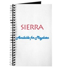 Sierra - Available For Playda Journal