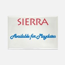 Sierra - Available For Playda Rectangle Magnet (10