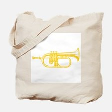 """Brass"" Trumpet Tote Bag"