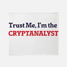 Trust me, I'm the Cryptanalyst Throw Blanket