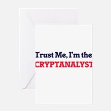 Trust me, I'm the Cryptanalyst Greeting Cards