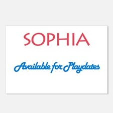 Sophia - Available For Playda Postcards (Package o