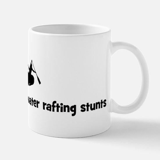 White Water Rafting stunts Mug