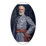 Robert E. Lee - Civil War Oval Sticker