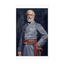 Robert E. Lee - Civil War Rectangle Decal