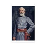 Robert E. Lee - Civil War Rectangle Sticker