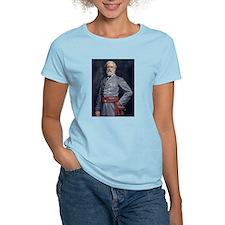 Robert E. Lee - Civil War Women's Pink T-Shirt