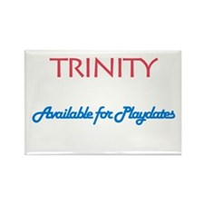 Trinity - Available For Playd Rectangle Magnet (10