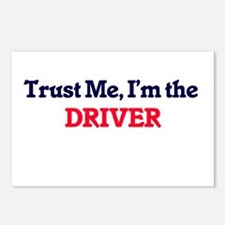 Trust me, I'm the Driver Postcards (Package of 8)
