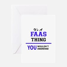 It's FAAS thing, you wouldn't under Greeting Cards
