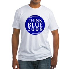 Think Blue 2008 (Shirt Made in USA)