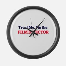 Trust me, I'm the Film Director Large Wall Clock