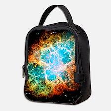 Crab Nebula Neoprene Lunch Bag