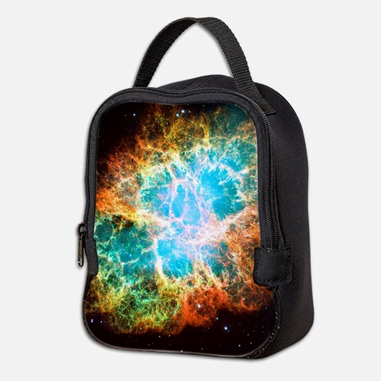 Crab Nebula Neoprene Lunch Bag