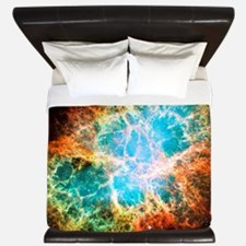 Crab Nebula King Duvet