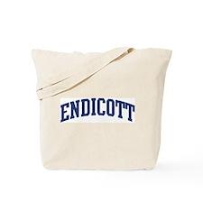ENDICOTT design (blue) Tote Bag