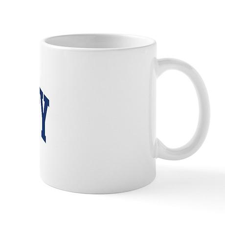 Fogarty design blue mug by surnamealot for Blue mug designs