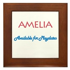 Amelia - Available For Playda Framed Tile