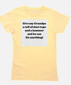 Unique Grandpa fix Girl's Tee