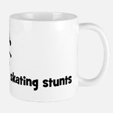 Womens Ice Skating stunts Mug