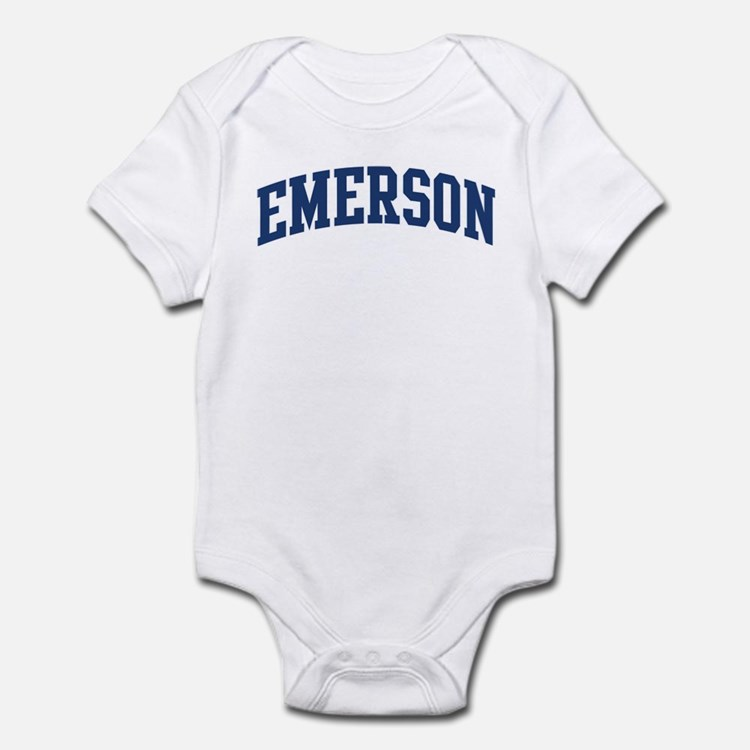 EMERSON design (blue) Infant Bodysuit