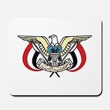 Yemen Coat Of Arms Mousepad