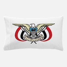 Yemen Coat Of Arms Pillow Case
