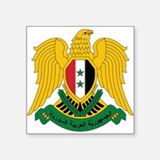 Syria Coat Of Arms Sticker