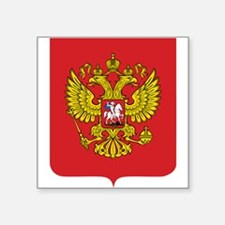 Russia Coat Of Arms Sticker