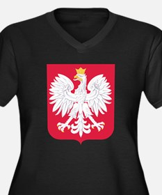Poland Coat Of Arms Plus Size T-Shirt
