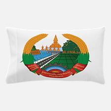 Laos Coat Of Arms Pillow Case