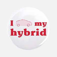 I Love My Hybrid Large Buttons (100 pk)