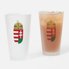 Hungary Coat Of Arms Drinking Glass