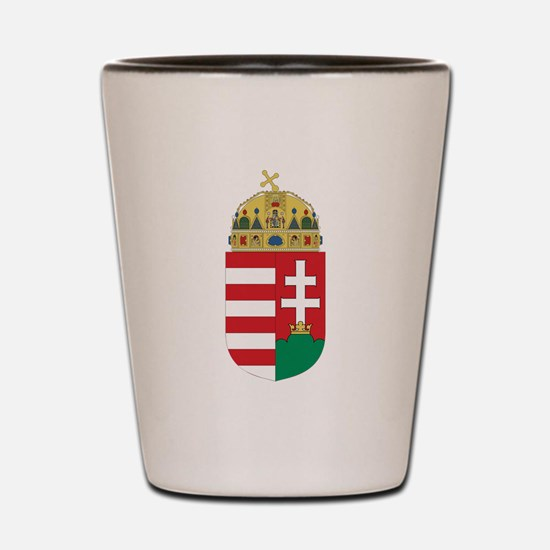 Hungary Coat Of Arms Shot Glass