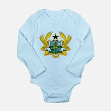 Ghana Coat Of Arms Body Suit
