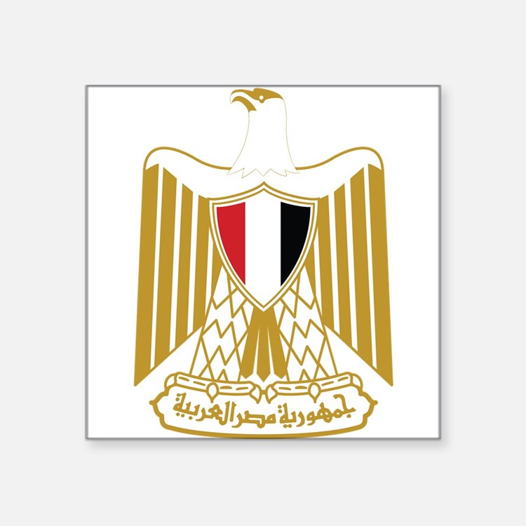 Egypt Coat Of Arms Sticker