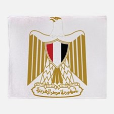 Egypt Coat Of Arms Throw Blanket