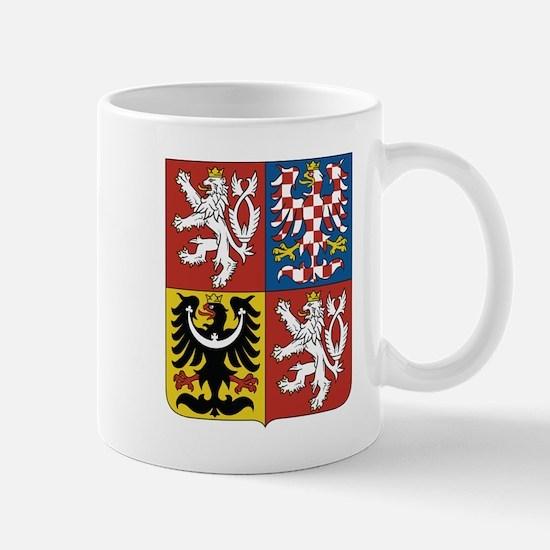 Czech Republic Coat Of Arms Mugs