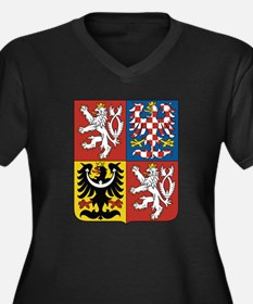 Czech Republic Coat Of Arms Plus Size T-Shirt