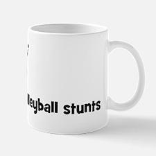 Mens Volleyball stunts Mug