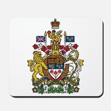 Canada Coat Of Arms Mousepad