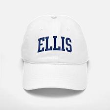 ELLIS design (blue) Baseball Baseball Cap