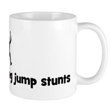 Long Jump stunts Small Mugs