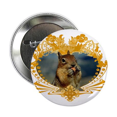 """Squirrely Squirrel Crest 2.25"""" Button (100 pack)"""