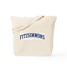 FITZSIMMONS design (blue) Tote Bag