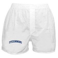 FITZSIMMONS design (blue) Boxer Shorts